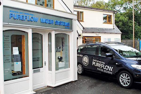 Exterior of Pureflow Water Systems, Christchurch Dorset